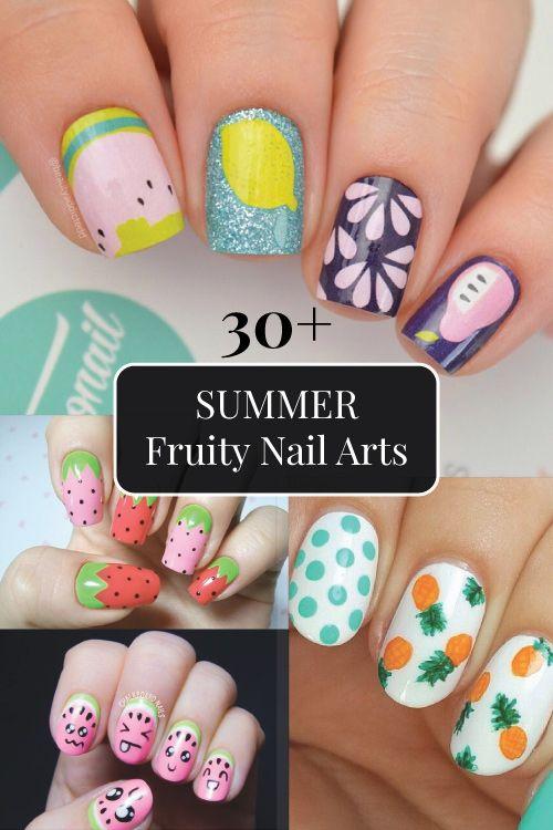Diy Fruit Nail Art Designs Easy Nail Art Ideas For Summer Diy