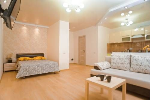 Apartment Popova Penza Apartment Popova offers accommodation in Penza. Free WiFi is provided throughout the property.  All units feature a flat-screen TV. There is also a kitchen, equipped with a microwave and fridge. A stovetop and kettle are also available.