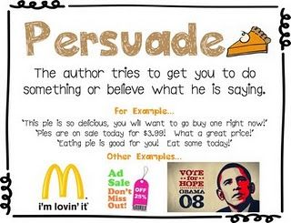 LOVING these author's purpose charts!!!