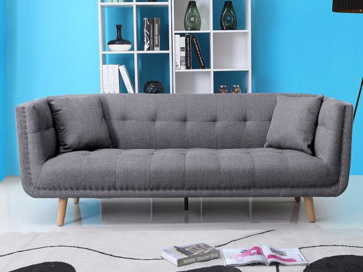 3 Sitzer Sofa Stoff Karl 2 Farben Gunstig Online Kaufen Sofa Stoff Sofa Design Sofa