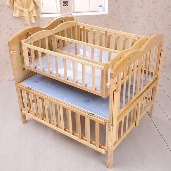 interesting crib for twins cribs for twins pinterest the o 39 jays baby cribs and products. Black Bedroom Furniture Sets. Home Design Ideas
