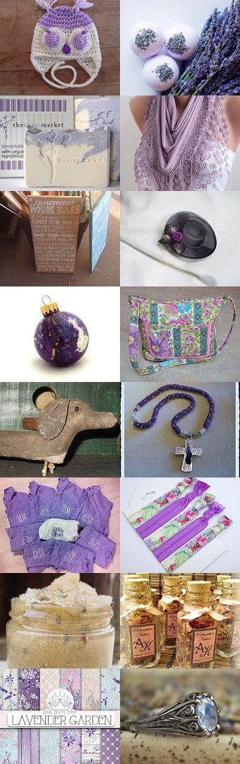 Among the fields of lavender... by TinkgeringNeverlan on Etsy--Pinned with TreasuryPin.com #februaryfinds