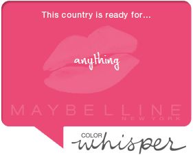 Check out the full #colorwhisper wall on Maybelline.com/ColorWhisper.aspx