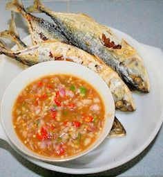 nava-k: Fried Kembung (Mackerel) With Assam Sauce