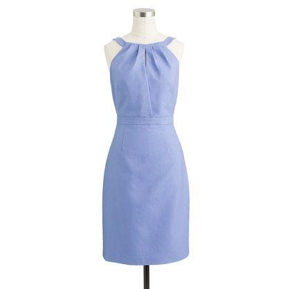 Jcrew -Maren dress in cotton cady in bright hydrangea
