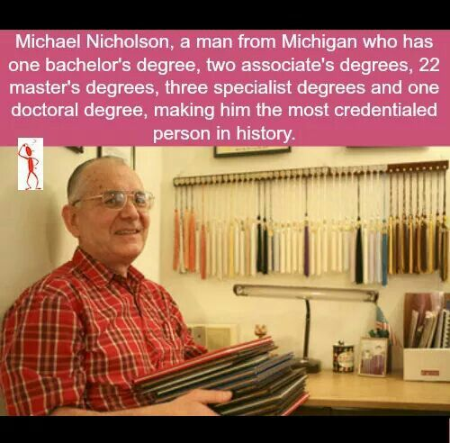 How come not many people have a Master's Degree?
