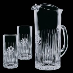 Promotional Products Ideas That Work: Carey Pitcher & 2 Hiballs. Get yours at www.luscangroup.com