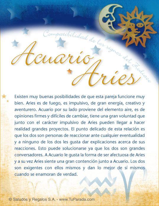 Acuario Con Aries Aries Y Acuario Aries Acuario Compatibilidad
