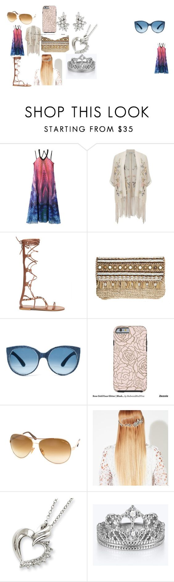 """""""Hawaiian chill time outfit"""" by frizz-31 on Polyvore featuring WithChic, Miss Selfridge, Skemo, Tom Ford and John Lewis"""