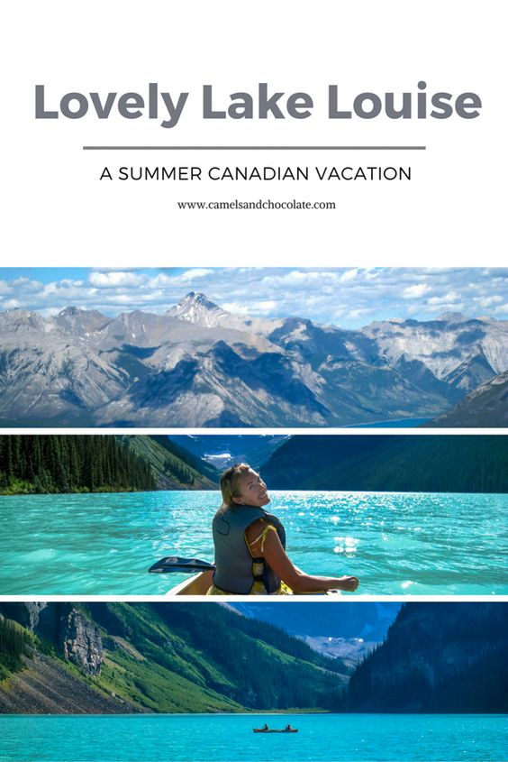 A Summer Vacation in Banff and Lake Louise