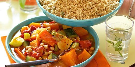 Couscous végétarien facile