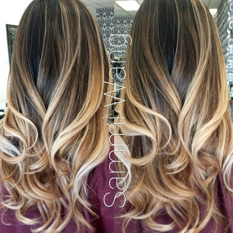 Balayage Ombre / Long Layer Cut