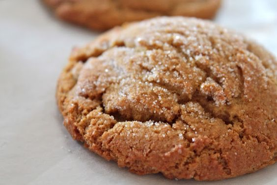 ... 3rd Annual Christmas Cookie Extravaganza - Soft Gingersnap Cookies