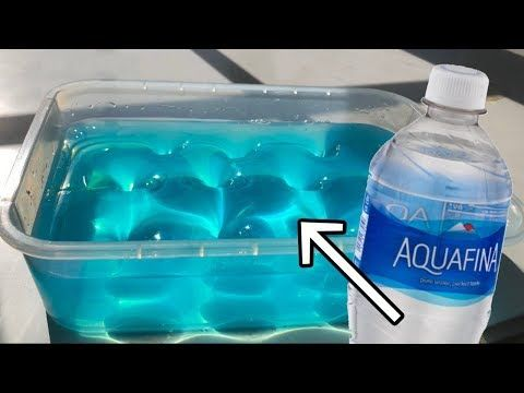Water Slime Testing No Glue Water Slimes Without Glue Or
