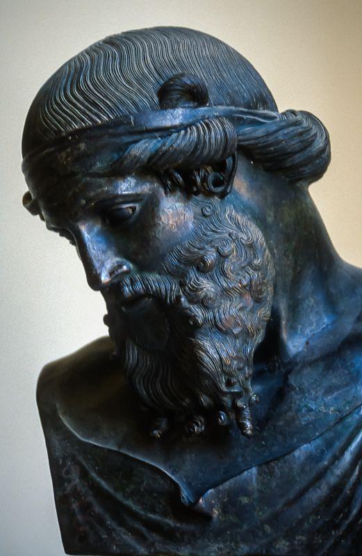 Museo Archeologico Nazionale di Napoli : bronzi della Villa dei Papiri, Erculano : Plato o Dyonisos o Priapus: