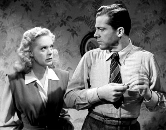 "1945, ""Fallen Angel"" - Alice Faye, Dana Andrews"
