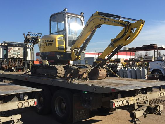 Norris Sales is more than happy to move our rental equipment to your job site.