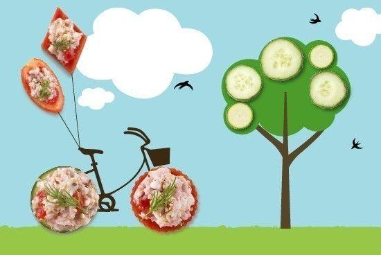 Tartine di verdure e spigola | casadivita.despar.it