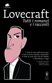 H. P. Lovecraft (Italian Edition). Illustration: Mikel Casal. Designed by Luisa Montalto and Dario Morgante.
