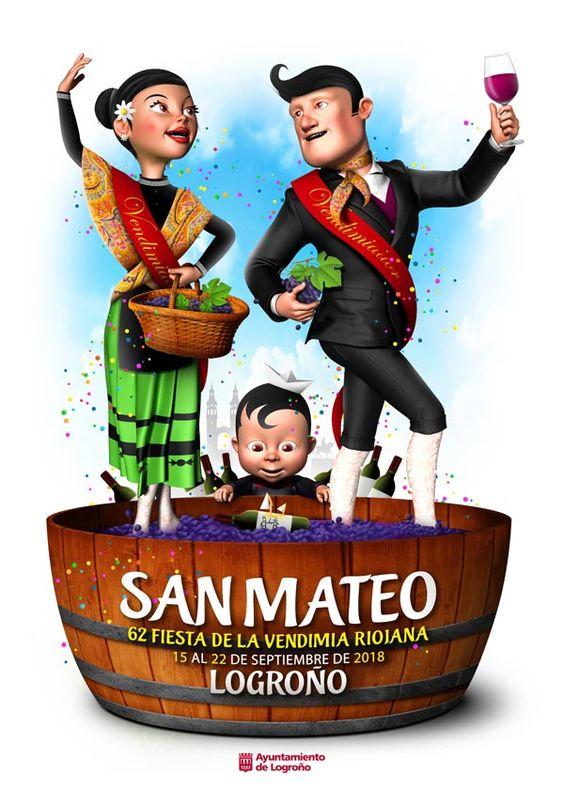 Cartel Finalista San Mateo Logroño 2018