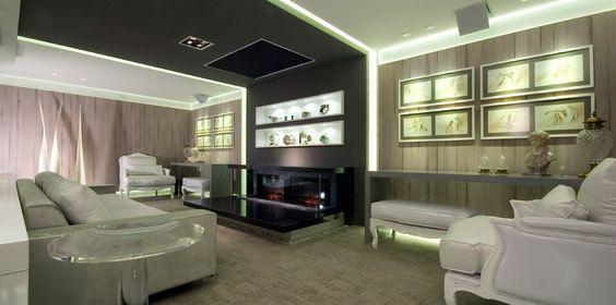 Decor Salteado - Blog de Decoração | Construção | Arquitetura | Paisagismo: Living contemporâneo e (muito) sofisticado - we love decor!