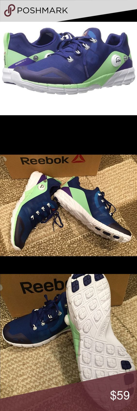 cf4eb5d94fb48d ... Shoes Reebok ZPump fusion running training sneakers It will be easy to  get pumped for every workout ...