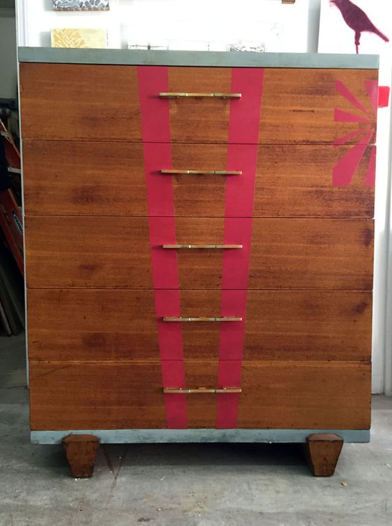 Mid Century Dresser with Enhancements