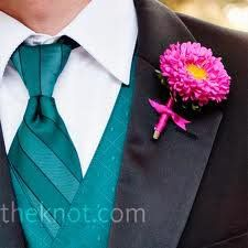 Pink & Teal Wedding - See more at partymotif.com