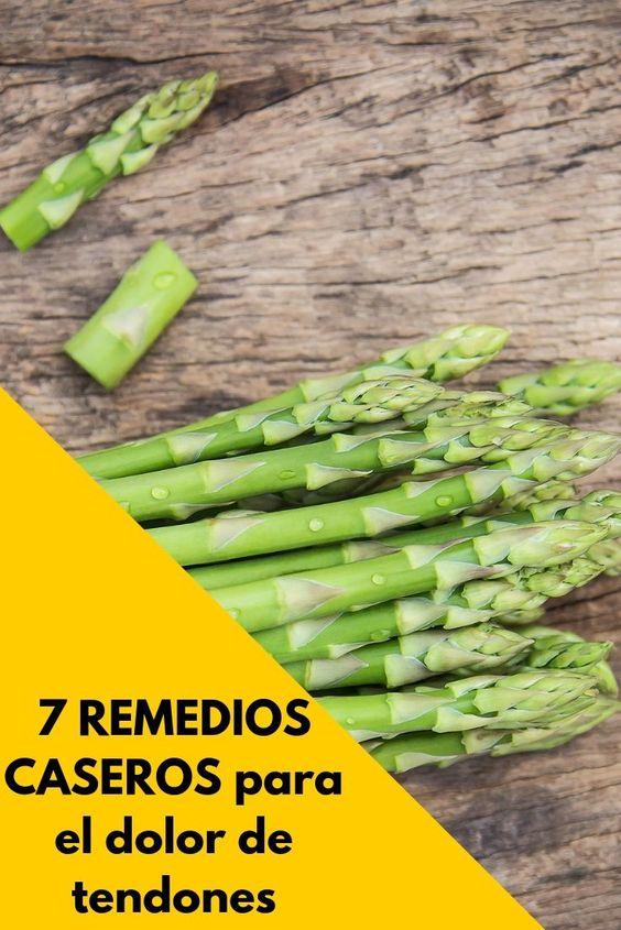 remedios caseros para el dolor de tendones