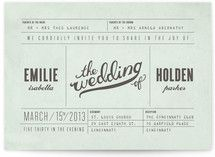 Mr. Laurence wedding invitations from Minted