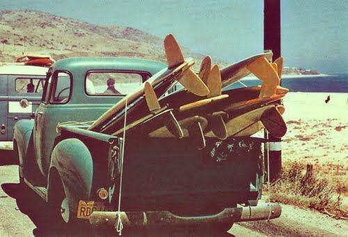Vintage surf.