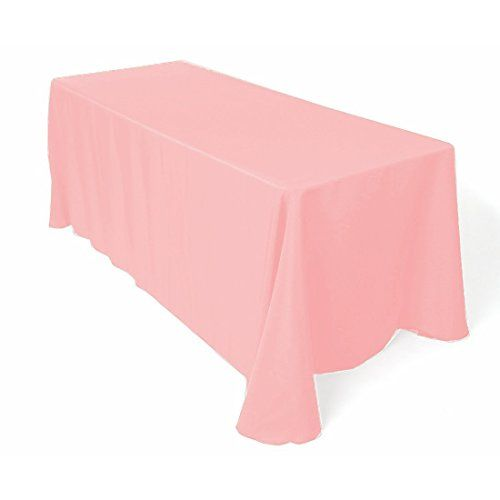 """New Creations Fabric And Foam 60/"""" x 108/"""" Rectangular Polyester Poplin Tablecloth"""