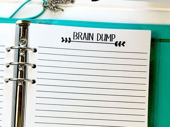 Filofax, Carpe diem and Crushes on Pinterest - color lined paper