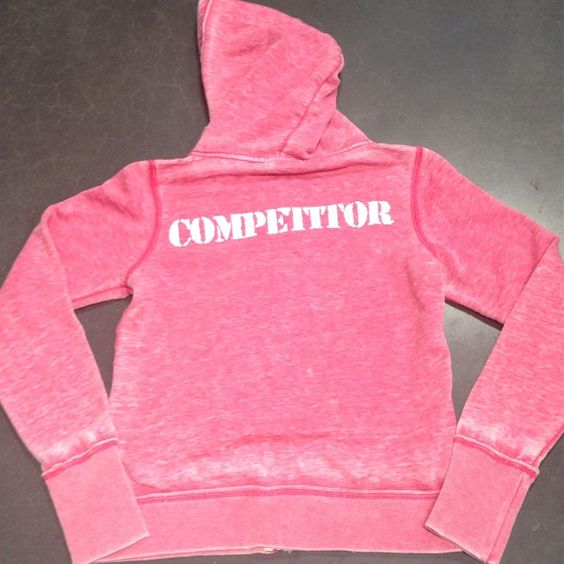 COMPETITOR Hoodie PINK from MISSFIT Gymwear & RYNOFLEX for $35.00 on Square Market