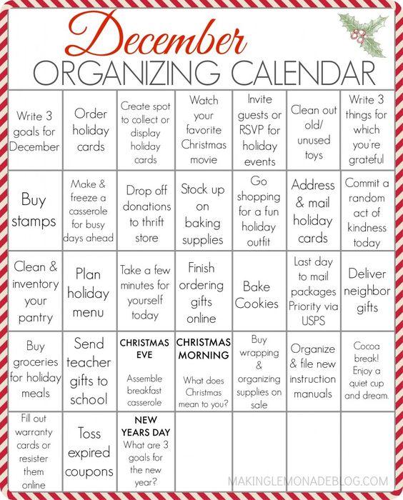 everyday holidays list
