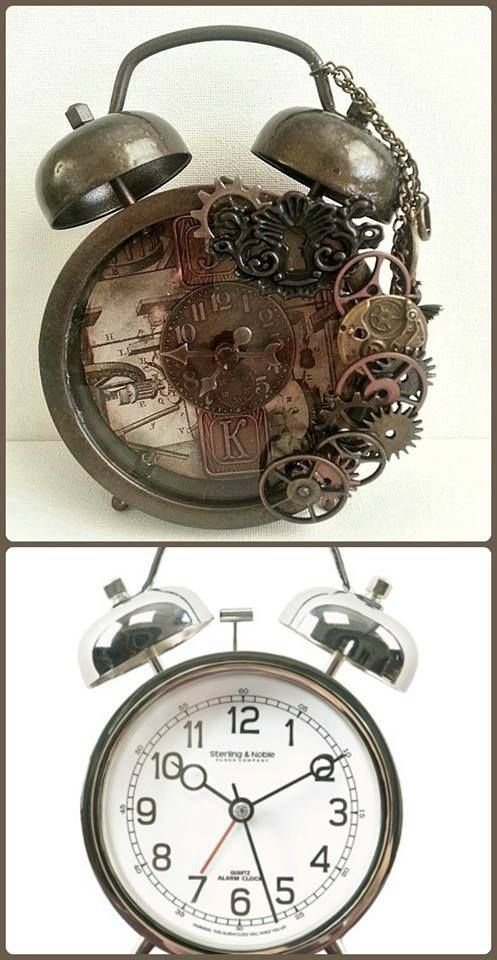 Style Alarm Clock And Gears On Pinterest