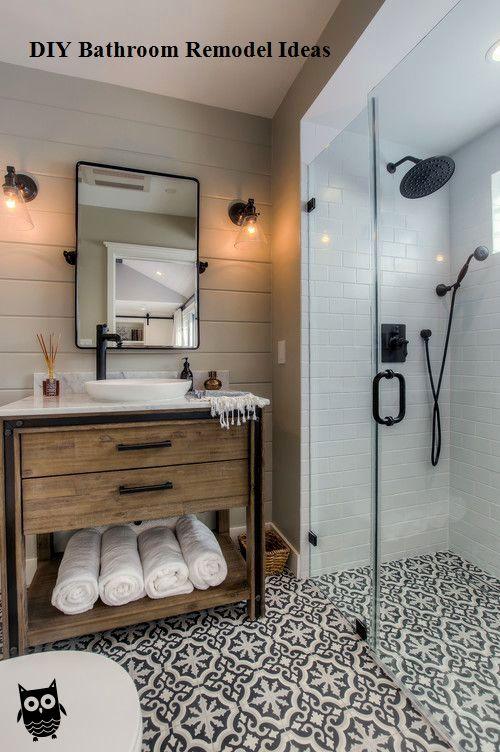 15 Incredible Diy Ideas For Bathroom Makeover Bathroom Renovation Diy Bathrooms Remodel Creative Bathroom Design