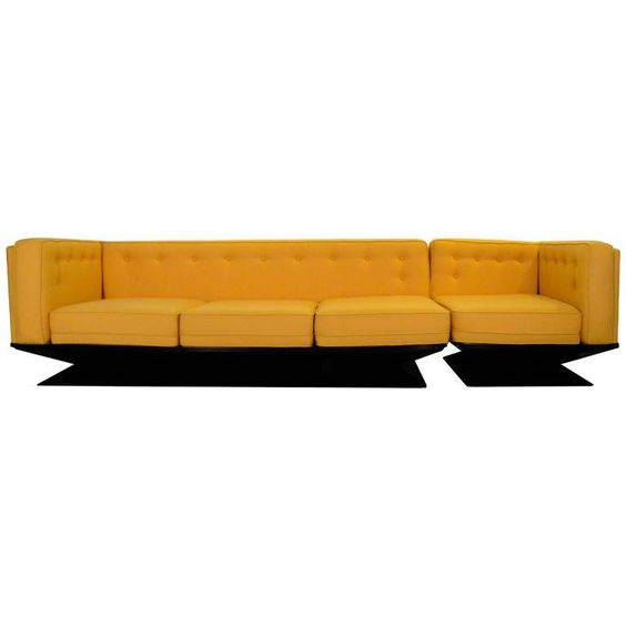 Newly Upholstered in a Knoll Wool MIM Roma Sectional Sofa by Luigi