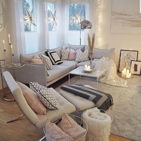 Fashion Mag Fashionmaglovers Fotos Y Videos De Instagram Scandinavian Design Living Room Corner Sofa Living Room Small Modern Living Room X fashion chic living room