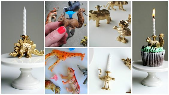 How to make animal candles for party