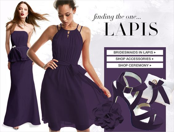Lapis Bridesmaid Dresses for Sale | tips advice wedding wisdom ...