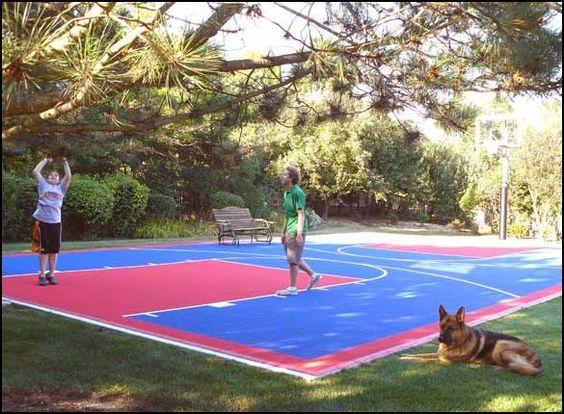 Chicago Basketball Court Basketball Court Backyard Outdoor Basketball Court Backyard Basketball
