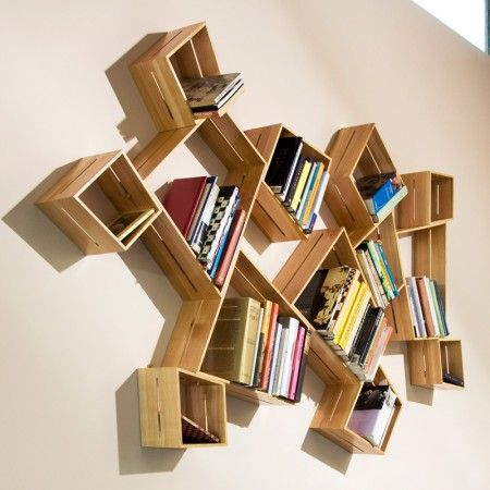 creative bookcase: