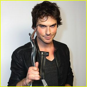 #Ian Somerhalder: 'The Vampire Diaries' Wins Best Threesome at Young Hollywood Awards 2014! --- More News at : http://RepinCeleb.com  #celebnews #repinceleb