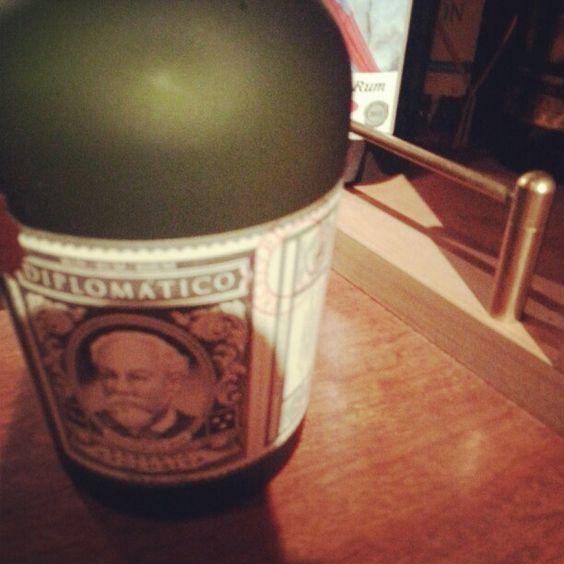 Venezuela Rum.DIPLOMATICO.Cheers!