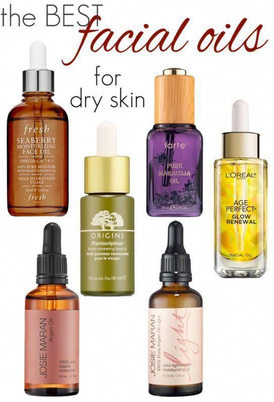 The Best Facial Oils For Dry Skin Skincaretips Oil For Dry Skin Dry Skin Care Facial For Dry Skin