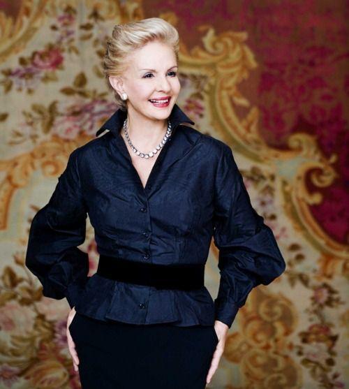 I chat up fashion designer Carolina Herrera. Read my Q&A on my blog: www.thewordygirl.net