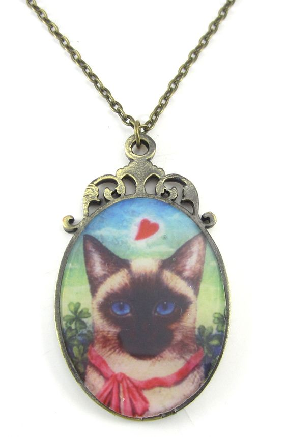We Are Siamese Necklace - Kintage
