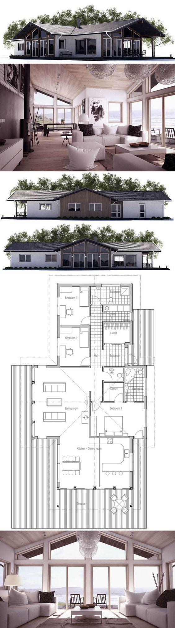 Kleines Haus Hausplan Plans P Dorysy Pinterest