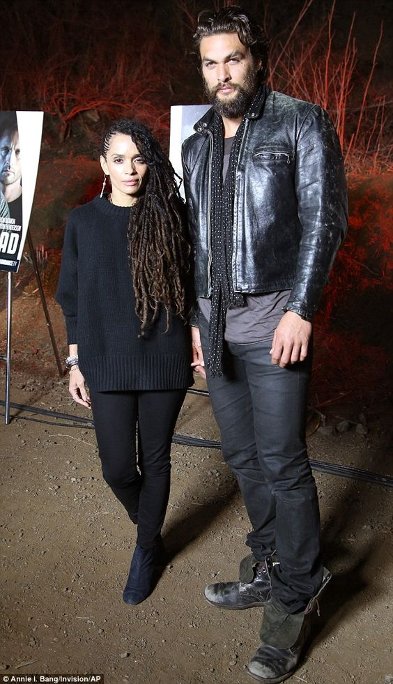 Jason Momoa puts on an affectionate display with wife Lisa Bonet